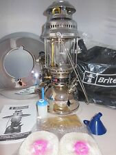 BriteLyt/Petromax USA 500CP Lantern with Reflector & Case NEW old Stock