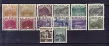 Österreich 1929 -1930 Landschaftsbilder gross komplett postfrisch