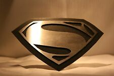 TRAILER HITCH COVER ~ SUPERMAN ~ MAN OF STEEL ~ NEW!  ~ FREE SHIP ~