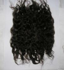 WIG MAKING WEFTS MOHAIR LOCKS DOLLS SPECIAL EFFECTS - DARK BROWN 10grams