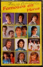 FAMOSOS EN HORUS - Junco, Tonino, Ana Reverte, Los Chavis - SPAIN CASSETTE 1987