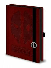 MARVEL DEADPOOL Premium a5 NOTEBOOK legati 100% di qualità Ufficiale Merch