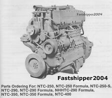 Cummins Diesel Engine Parts Catalog NTC-FFC NHHTC Manual Big Cam Power Torque CD