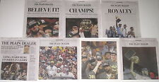 CLEVELAND PLAIN DEALER CAVALIERS CAVS 2016 NBA CHAMPIONSHIP EDITION 7 NEWSPAPERS