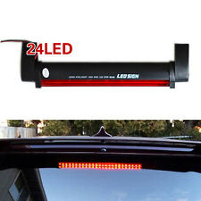 Car Red 12V 24LED High Mount Third 3RD Brake Stop Lights Anti-rear-end Taillight