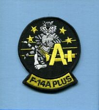 GRUMMAN F-14A+ F-14 TOMCAT US NAVY VF- CARRIER Fighter Squadron Jacket Patch
