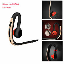 HD Voice V4.1 Bluetooth Headset Stereo Headphone Earphone For iPhone 6 5S 4S LG