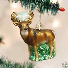 *Whitetail Deer Buck* Hunting Wildlife (12162) Old World Christmas Ornament- NEW