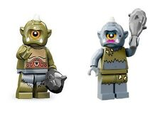 LEGO 71000 71008 MINIFIGURES SERIES 9 13 - MALE & LADY CYCLOPS sealed new