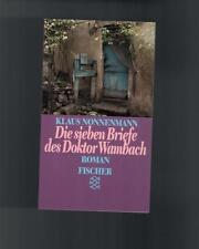 Klaus Nonnenmann - Die sieben Briefe des Doktor Wambach - 1989