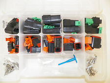 DEUTSCH DT SERIES BLACK CONNECTOR KIT 237 PC  SOLID terminal + pic tool