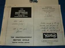 Copied Norton Motor Cycles a Practical guide covering all models 1932-1949    40