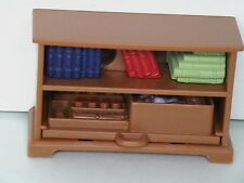 FISHER PRICE LOVING FAMILY DOLLHOUSE BOOKSHELVES BOOK CASE FOR KID'S ROOM-NEW