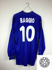 Italy BAGGIO #10 98/00 L/S Home Football Shirt (L) Soccer Jersey Kappa