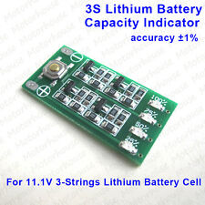 3S Li-ion Lithium Battery Capacity Indicator LED Meter Tester for Battery Cell