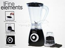 NEW 400W Electric Multi Food Blender With Grinder Smoothie Processor Gift BLACK