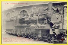 CPA FRANCE Superbe LOCOMOTIVE construite en 1903 Train Rotonde Railway French