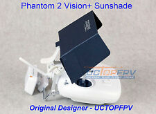 Black Sunshade fit up to iPhone 6 Plus 6+ for DJI Phantom All Models Snap on/off