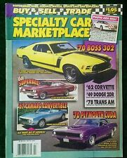 SPECIALTY CAR MARKETPLACE #207 BUY SELL TRADE RESTORABLES RODS CLASSICS MUSCLE