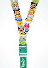Disney TSUM TSUM MICKEY & FRIENDS Reversible Pin Trading Lanyard