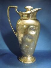 Vintage Wallace Bros Silver Co. Pitcher V8101 64 Ounces Silver Plate Decorative