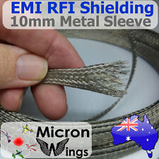 10mm EMI RFI Shielding Expandable Metal Braided Tinned Copper Cable Sleeving