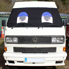 VW T25 Window Camper Van Front Screen Curtain Wrap Cover Sleepy Eyes Transporter