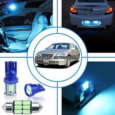 8x Aqua Ice Blue LED Interior Dome Map Light Package Kit For Lexus GS300 98~05