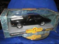 69 oldsmobile 442 W-30  AMERICAN MUSCLE 1/18 black w/ olds rally wheels