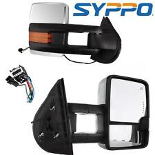 CHROME 07-13 Silverado Suburban Power Heated Mirrors LED Signals Clearance Lamps