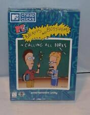 Beavis and Butt-Head: Calling All Dorks (PC, 1996) New in Big Retail Box