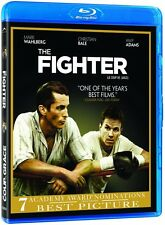 The Fighter (Blu-ray) Mark Wahlberg, Christian Bale, Amy Adams NEW