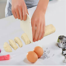 Plastic Trapezoidal Pastry Dough Scraper Cutter Plastic Baking Cake Kitchen Tool