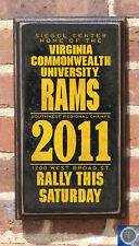 Virginia Commonwealth VCU Rams Antiqued Basketball Vintage Plaque Sign - VCU2s