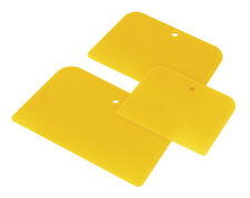 Sealey 3 Piece Plastic Car/Van Body Filler Applicator Spreader Mixer Set AK5225
