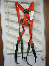 NORTH FALL PROTECTION EQUIPMENT HARNESS XL FP700 NEW IN OPEN BAG WITH MANUAL NOS
