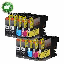 10pk Ink Cartridge For Brother LC103XL LC-103XL MFC-J450dw MFC-J470dw MFC-J870dw