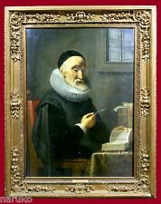 17thC GERMAN OIL ON PANEL NAME ON FRAME JURGEN OVENS DISCOUNTED PRICE