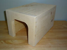 MEDIUM KD PINE HIDE AWAY HOUSE FOR CHINCHILLAS, RATS,GUINEA PIGS, FERRETS