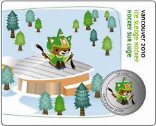 2010 50 cents Sumi Para Ice Sledge Hockey: Vancouver Mascots Collector Cards