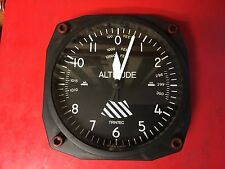 "Trintec Altimeter Style 6.5"" Quartz Wall Clock Aviation Replica Canada"