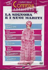 Dvd **LA SIGNORA E I SUOI MARITI** con S.MacLaine P.Newman R.Mitchum nuovo 1964