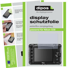 2x Nikon Coolpix S30 screen protector protection guard anti glare