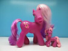 My little pony G3 Cherry Blossom and Ponyville