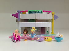 POLLY POCKET Vintage 1995 LIGHT UP CHILDREN'S HOSPITAL **COMPLETE**