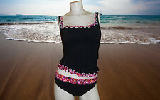 NWT PROFILE BY GOTTEX WATERCOLOR Tankini 2 piece BATHING SUIT SWIMSUIT Sz- 8