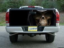 T05 GRIM REAPER SKULL TAILGATE WRAP Vinyl Graphic Decal Sticker Tint Bed