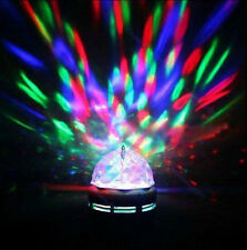 3W RGB LED Laser Light Projector Party DJ Disco KTV Stage Rotation Crystal Ball