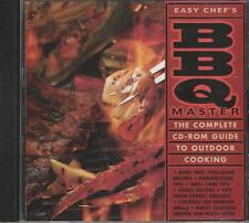 Music CD Easy Chef's BBQ Master The Complete CD-Rom Guide To Outdoor Cooking