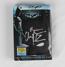 Christian Bale Batman Dark Knight Signed Authentic Autographed Limited Ed DVD
